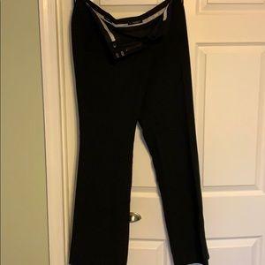 Loft Marisa Boot Cut Black Dress Pants